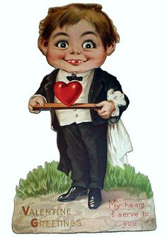 Valentine Greetings from Cannibal Alfred E. Neuman by pageofbats, via Flickr
