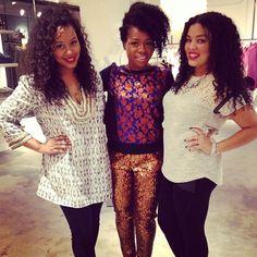 @babyshopax cB founder@Myleik Teelex@Eboni Ifé (The Fashionista Next Door)at the@Calypso St. Barthshopping event!#calypsoatl