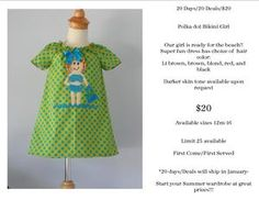 Whimsy Wear has started their 20 Days/20 Deals/$20 !!!  Unique Boutique Clothing.  https://www.facebook.com/pages/Whimsy-Wear/112337318928503