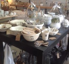 Mixing bowls and plates @ cinnamon&grace