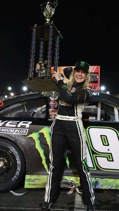 Hallie Deegan Joe Nemechek, Natalie Decker, Nascar Racers, General Tire, Racing News, Auto Racing, Las Vegas Motor Speedway, Freestyle Motocross, Kevin Harvick