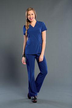 NEW! You'll love rockin' your NEW Smitten 101031 RIGHTEOUS Tunic! #Smitten #Scrubs #Medical #Fashion #Uniforms #New #Fall #Styles #Nurse #Nursing #CNA #Med #Tech #Heart #Wings