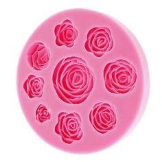 3D Rose Silicone Cookie Biscuit Mold – EUR € 10.20