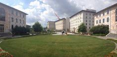 School of Medicine panorama. Photo by Wendy Darling. #emory #atlanta #medschool