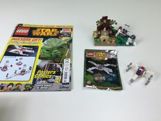 LEGO Star Wars Magazine X Wing Fighter Foil Pack Review