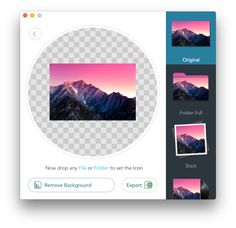 Image2icon - Your Mac. Your Icons.