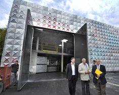 brisac gonzalez architects vivifies techno prisme storage depot