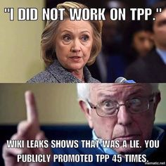 Hillary Clinton is a pathological liar. #stillsanders #seeyouinphilly