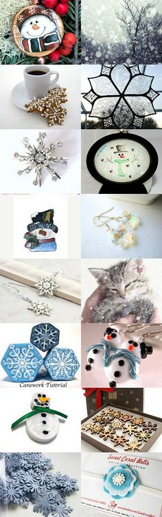 Snow Snow Snow by Val Swanson on Etsy--Pinned with TreasuryPin.com