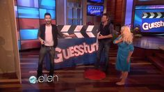'The Voice' Judges Play Guesstures! Wish I had one this big for my house.