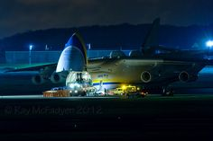 Ray Follow UR-82060 Antonov An-225 Mriya  Antonov Design Bureau (Antonov Airlines) UR-82060 Antonov An-225 Mriya C/n 19530503763 Prestwick Airport 10th March 2012  Cargo being Loaded up for a 2am departure