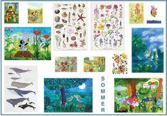 Sommer-Wandbilder-Poster-Drucke-Postkarten