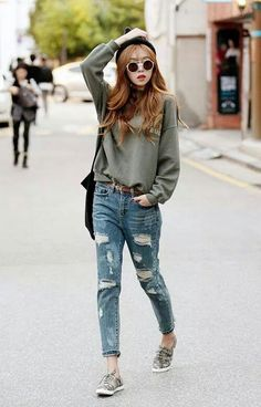 Really liking the street style