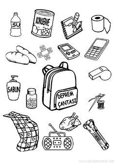 Kızılay Haftası Boyama Sayfası | OkulöncesiTR-Preschool School Teacher, Pre School, Preschool Crafts, Crafts For Kids, Worksheets, Coloring Pages, Activities For Kids, Kindergarten, How To Plan