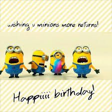 9 best happy birthday minions images in 2016 | happy