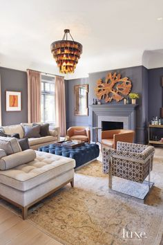 10 Most Popular Living Rooms on Pinterest   LuxeDaily - Design Insight from the Editors of Luxe Interiors + Design