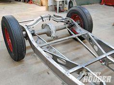 Hot Rod Rear Suspension