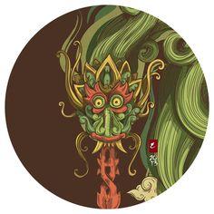 Ilustrações; Histórias de Java em Ilustração Servido