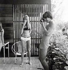 gsv107:  Great shot of George and Pattie.