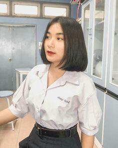 Saranya School Uniform Girls, Chef Jackets, Thailand, Porn, Fashion, Moda, Fashion Styles, Fashion Illustrations