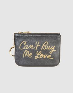 So do-able..gold marker, black coin purse--any expression you want!