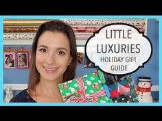 Little Luxuries: Holiday Gift Guide 2014