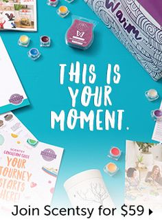 You can join Scentsy for only 49usd/59cad this month only! Get a full size warmer, a sample of each available scent and business supplies! Go to www.hselig.scentsy.ca/join for more details