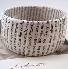 Pride and Prejudice bangle