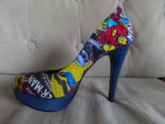 Marvel Comics, Stiletto Heels, Pumps, Trending Outfits, Unique Jewelry, Handmade Gifts, Campaign, How To Wear, Notes