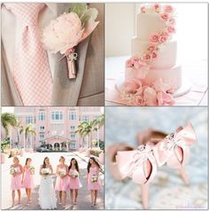 Pale pink wedding ideas