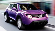The Nissan Juke comes available in exotic color like this purple, it starts at $19990 check it out more about this crossover