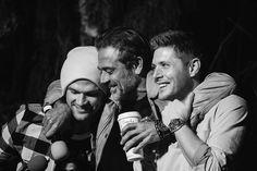 Jensen, Jared and Jeffrey Dean Morgan