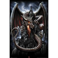 Dragon Lava - Póster por Spiral - Número Artículo: 260782 - desde 6,99 € - EMP Mailorder España:::La venta por correo y on line Rock Metal Punk: Camisetas, CD, DVD, Pósters, ropa e merchandise oficial