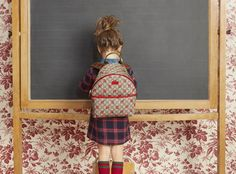 The backpacks and briefcases for Gucci fall 2016 Back to School are very…