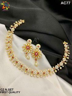 Diamond Jewelry, Gold Jewelry, Jewelry Necklaces, Jewelry Art, Gold Necklace Simple, Golden Necklace, Gold Jewellery Design, Gold Art, Temple Jewellery