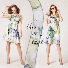 Kwiecisty kwiecień! Jesteśmy bardzo ciekawi, która z sukienek przypadnie Wam bardziej do gustu?  Lewa: http://bit.ly/SukniaMary  Prawa: http://bit.ly/SukniaElisa #semper #semperpoland #semperfashion #thisorthat #fashion #moda #stylish #style #dress #flowers #colourful #colors #spring #wiosna #summer #lato #holidays #trends #trendy #inspirations #fashioninspirations #inspiracje #modoweinspiracje