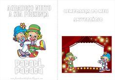Fazendo a Nossa Festa - Colorir: Patati Patatá - Livrinho de Atividades!