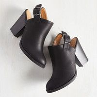 Charismatic Coffee Lover Bootie in Black