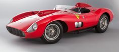 Among the 172 automobiles sold at the recent auction was the world's second most expensive Ferrari…