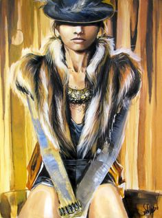 "Saatchi Online Artist: Jessica Rae Sommer; Acrylic, 2011, Painting ""Erose"""