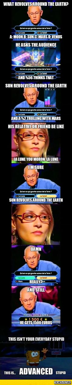 A Whole New Level of Stupidity on 'Who Wants to Be a Millionaire