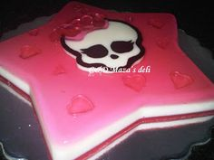 C Mazas Deli: Torta Monster High, gelatina y galletero
