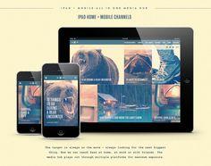 Labatt Blue: Wild Blue North Digital Experience by Jay DeLutis, via Behance
