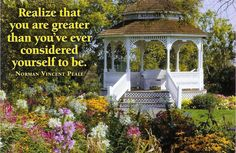 norman vincent peale quotes with images Love Me Quotes, Quotes To Live By, Sunday Inspiration, Norman Vincent Peale, Quotes About Everything, Positive Thoughts, Mantra, Favorite Quotes, Gazebo