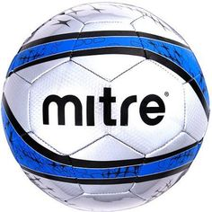 Mitre Cup Final Soccerball Silver And Bl