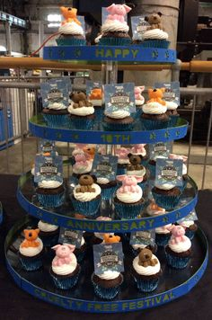 In 2015 to celebrate our 10th Birthday, the first 100 people through the doors at #CFF2015 received a gorgeous cupcake, thanks to our friends at Crafted³!