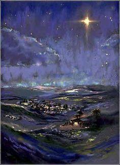 Star of Bethlehem painting