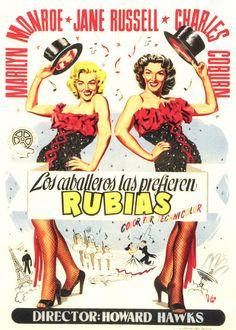 1953 - Los caballeros las prefieren rubias - Gentlemen Prefer Blondes - tt0045810