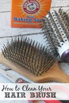 How to Clean Your Brush! This is a fun DIY project!