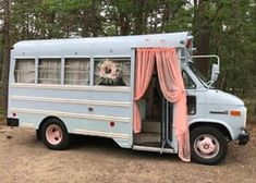 Design A Camper Van And We'll Give You A Road Trip To Go On life hacks life aesthetic life budget life interior life vehicles Motorhome, Build A Camper Van, Kombi Home, Blue Bus, Bus Living, Tiny Living, Short Bus, Bus House, Tiny House